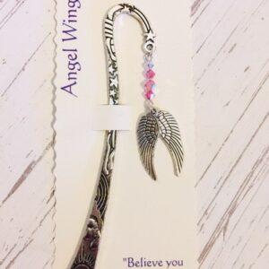 Castlebellgifts, Pewter Bookmark Angel Wings