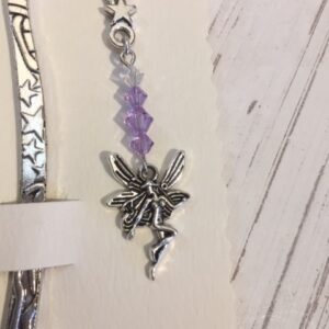 Castlebellnews, Pewter Bookmark Purple Fairy