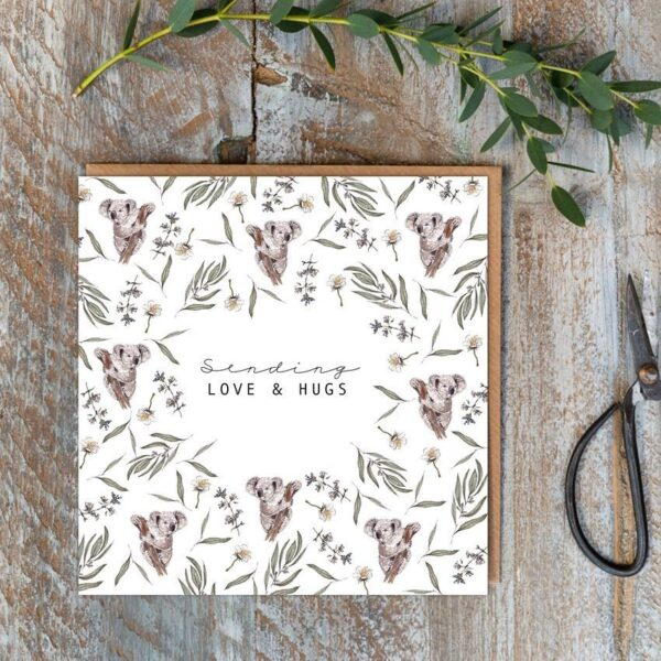 Castlebellgifts, Toasted Crumpet Love And Hugs Card