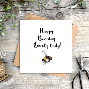 Castlebellnews, Toasted Crumpet Beeday Birthday Card