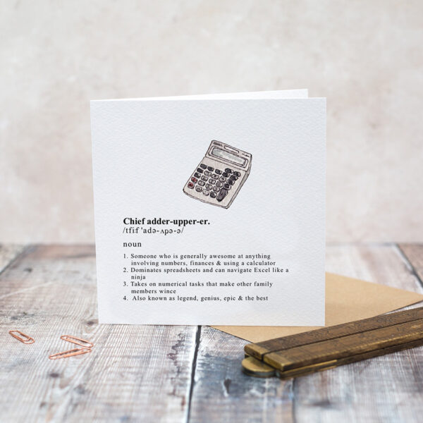 Castlebellgifts, Toasted Crumpet Gents Card