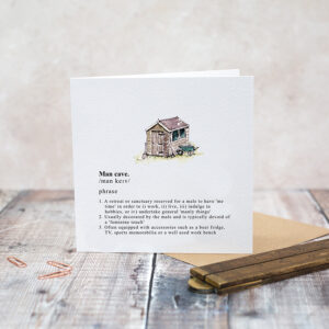 Castlebellnews, Toasted Crumpet Gents Card