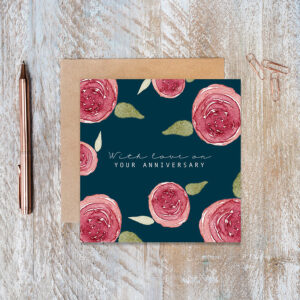 Castlebellgifts, Toasted Crumpet Anniversary Card