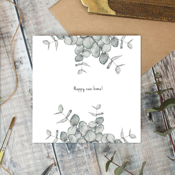 Castlebellgifts, Toasted Crumpet Happy New Home Card