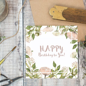 Castlebellgifts, Toasted Crumpet Card