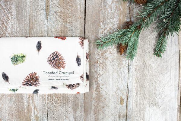 Castlebellgifts, Toasted Crumpet Tea Towel