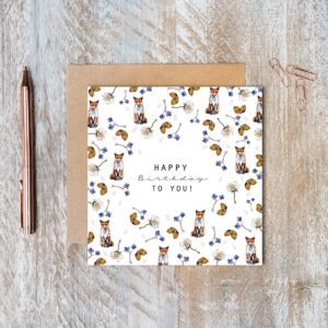 Castlebellgifts, Toasted Crumpet Birthday Card