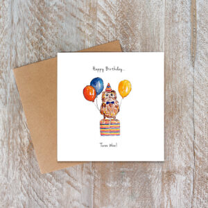 Castlebellgifts, Toasted Crumpet Owl Birthday Card