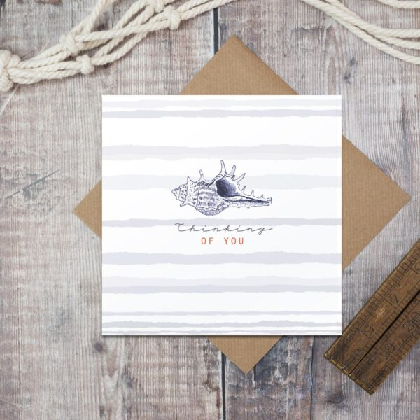 Casltebellgifts, Toasted Crumpt Thinking Of You Card