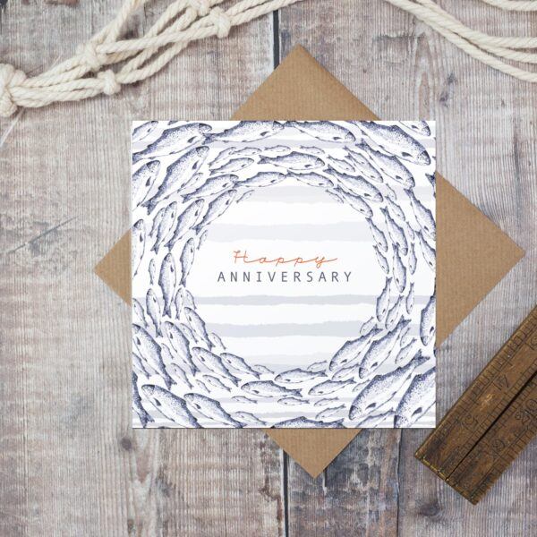 Castlebellgifts, Toasted Crumpet Happy Anniversary Card