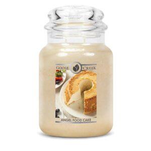 Castlebellgifts, Jar Candle , Angel Food Cake