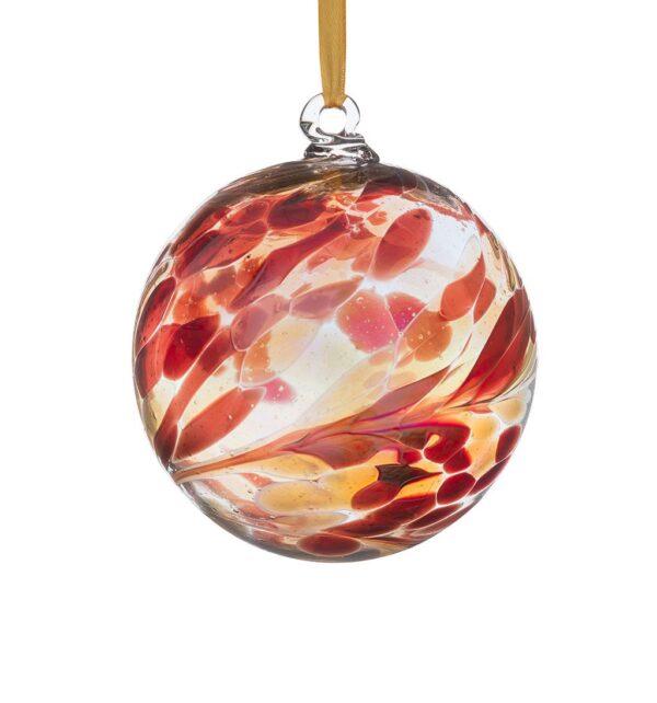 Castlebellgifts, Sienna Glass Orb