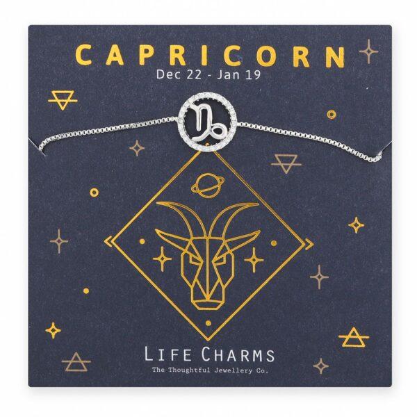 Life Charm , Capricorn Bracelet