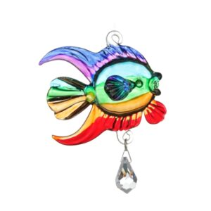 Castlebellgifts, Fantasy Glass Collectable Coral Fish