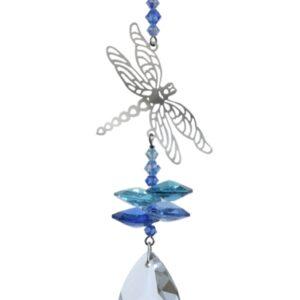 Castlebellgifts, Crystal Fantasy, Blue, Dragonfly , Gift