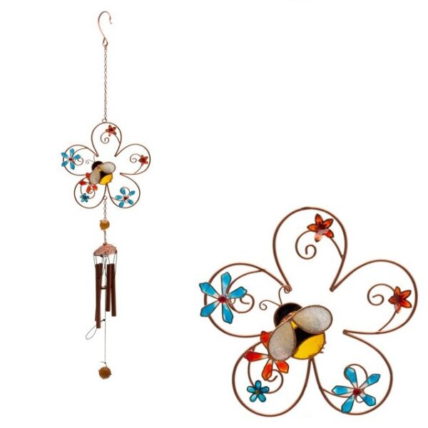 Castlebellgifts, Bee And Flower Windchime