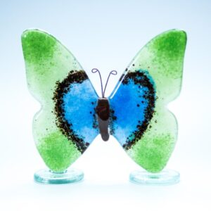 Milford Glass Fused Butterfly