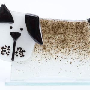 Milford Glass Dog
