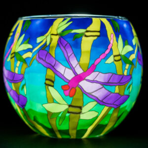 Dragonfly Milford glass