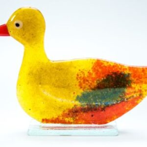 Milford Glass Fused Duck