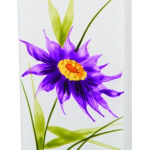 Purple Daisy Flatyz Candle