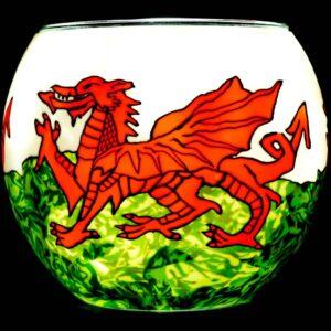 Welsh Dragon Milford Glass
